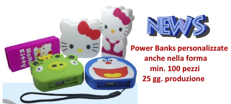 Power Banks personalizzate