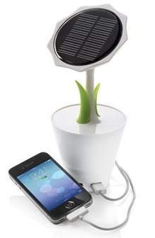 Powerbank-vaso fiori